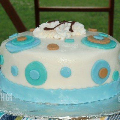 Wordless Wednesday – My First Fondant Cake