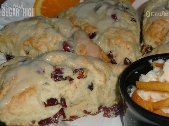 High Tea Cupcakes - Orange Cranberry Scones Baked In Teacups Recipe ...