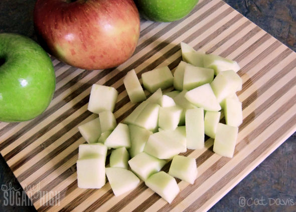 c cubed green apples