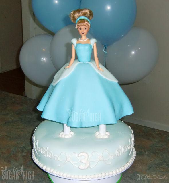 cinderella cake 3