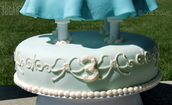 cinderella cake base 1