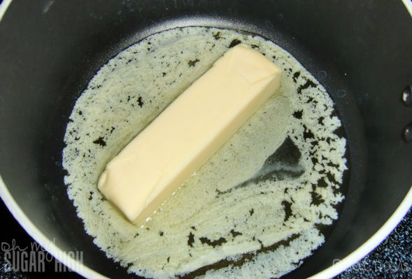 h melting butter