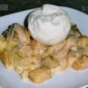 k apple pie bread pudding ala mode