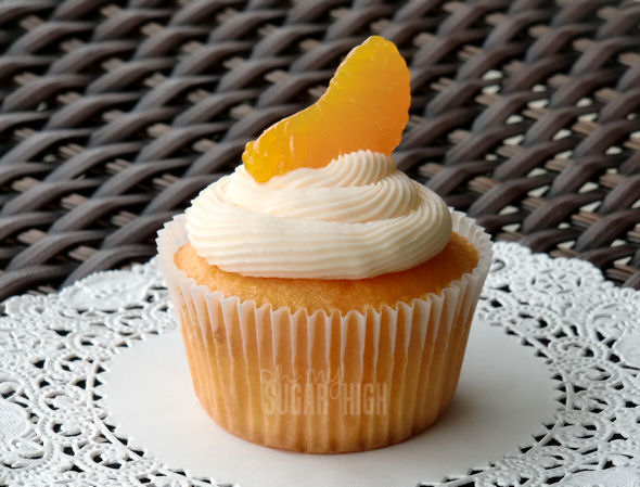 mandarin orange cupcake — Oh My! Sugar High