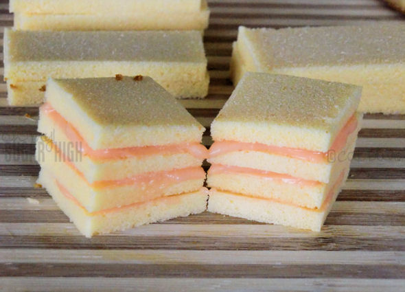To Make Petit Four Icing Quick and easy no bake pound cake petit fours ...