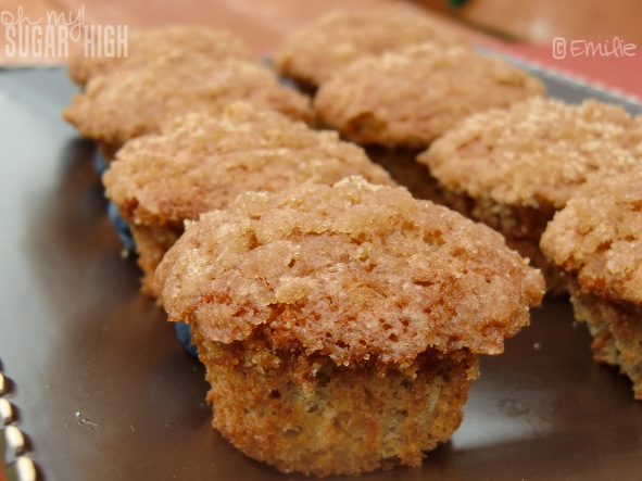 Perfect Morning Start with Banana Crumb Muffins — Oh My! Sugar High