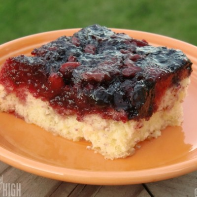 Last Tastes of Summer with Upside Down Berry Cake