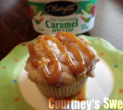 Caramel Apple Streusel Cupcakes Recipe
