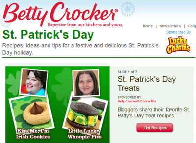 betty crocker st patricks day whoopie pies