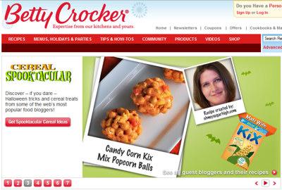 cat davis popcorn balls betty crocker