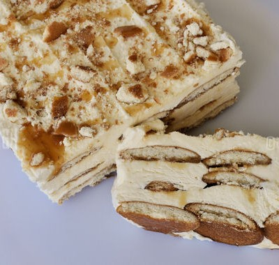 Dulce de Leche Frozen Dessert Recipe