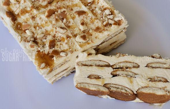dulce de leche layered dessert