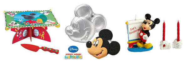 mickey mouse cake pans