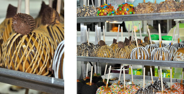 state fair candy and caramel apples