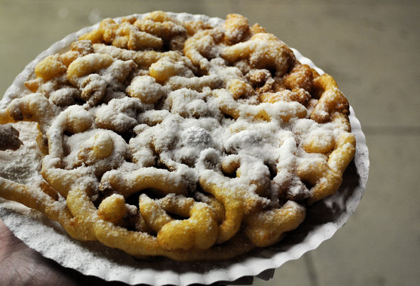 state fair funnel cake