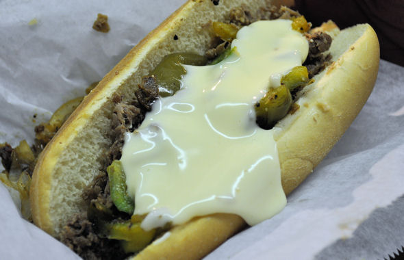 state fair philly steak and cheese sandwich
