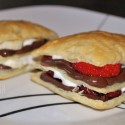 strawberry banana napoleons