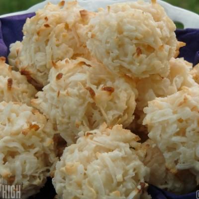 Decadent Coconut Macaroons