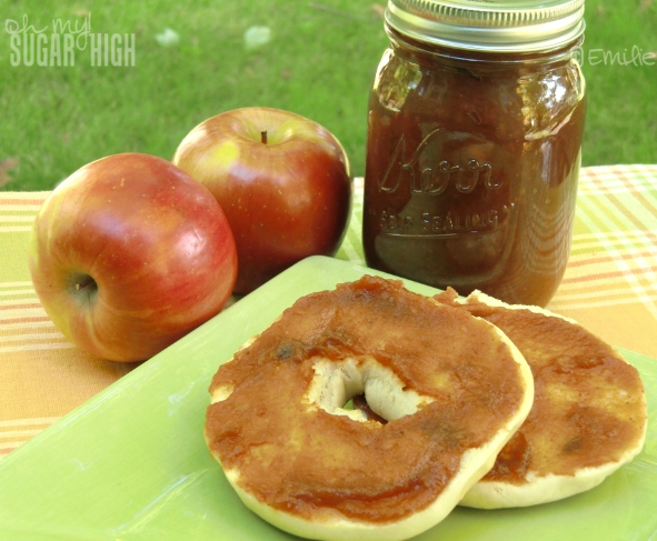 Easy Slow Cooker Apple Butter 1 — Oh My! Sugar High