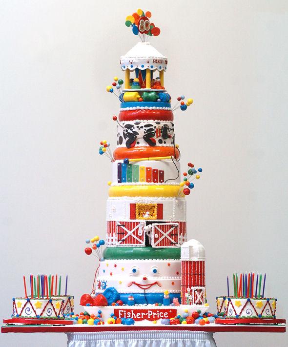 Fisher Price Birthday Cake