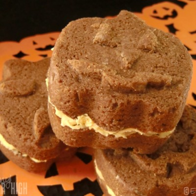 Wilton Halloween Chocolate Sandwich Cookies