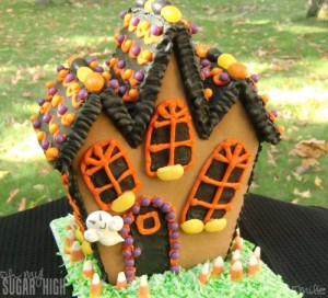 Wilton Haunted Cookie House Kit 15