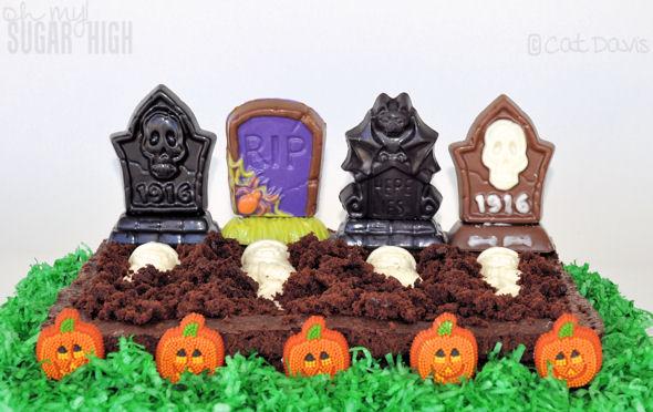 graveyard perfect plot brownies