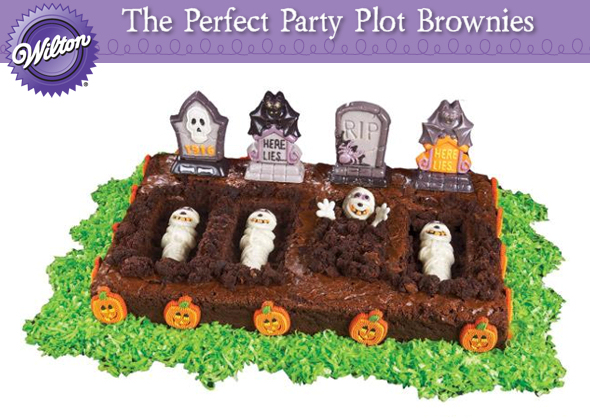 the perfect party plot brownies