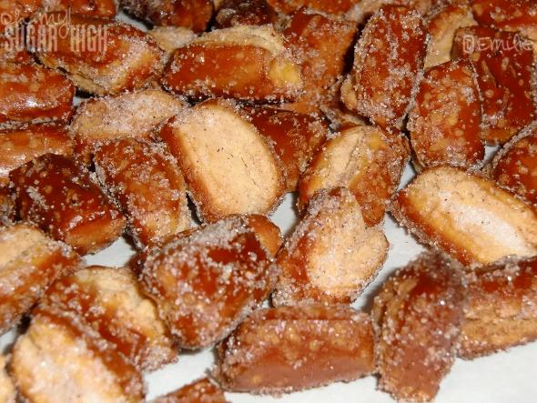 Sweet Cinnamon and Sugar Pretzel Nuggets — Oh My! Sugar High
