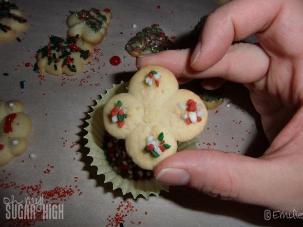 Holiday Spritz Cookies 14