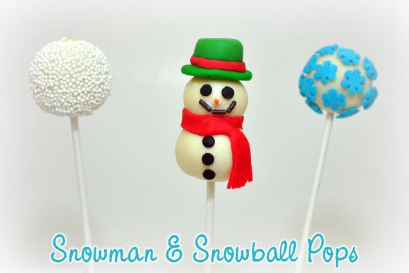 Snowman Snowball Pop