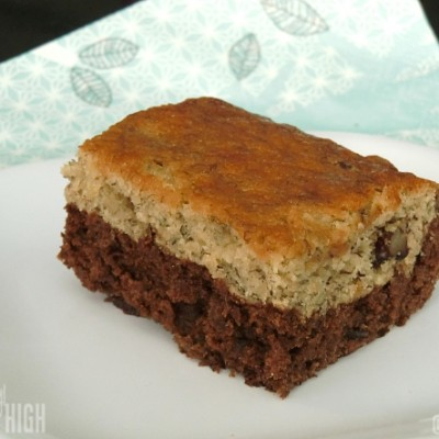 Cocoa Bottom Banana Pecan Bars from KitchenAid