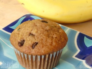 Zucchini Chocolate Chip Muffin 1