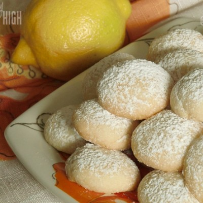 Lemon Drop Cookies – Tea Anyone?