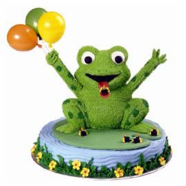 wilton frog cake