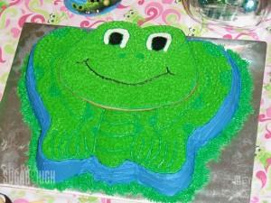 Wilton Frog Cake 13
