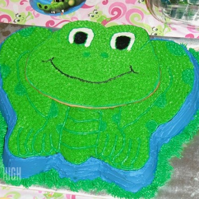 Wilton Leap Frog Birthday Cake Tutorial