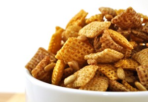 toffee sunflower chex cereal mix
