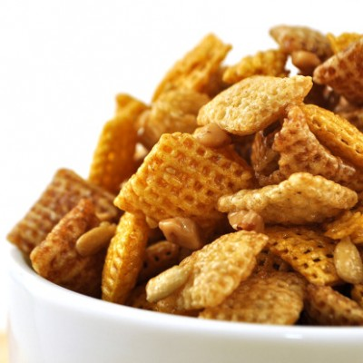 Sweet Toffee Chex Party Mix Recipe