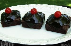 Glazed Brownie Squares 1