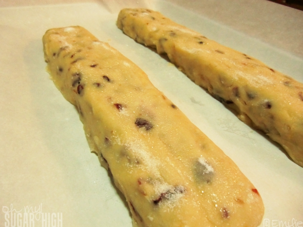 Cranberry Almond Biscotti 2