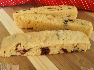 Cranberry Almond Biscotti 3