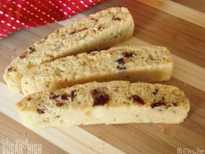 Cranberry Almond Biscotti 5