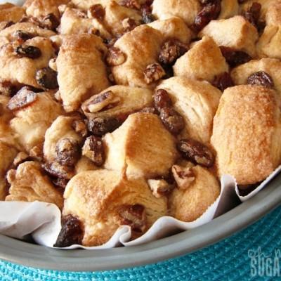 Cinnamon Raisin Nut Pull-Apart Bread