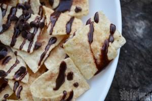 Chocolate Dessert Nachos 2