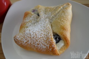 Blueberry Cream Cheese Danish 4