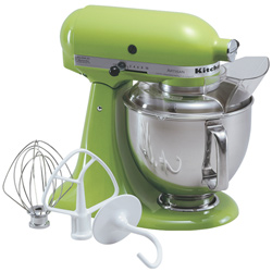 KitchenAid-5qt-stand-mixer-green-apple