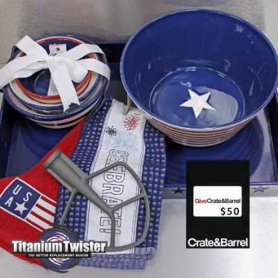Titanium Twister Replacement Beater + 4th of July Giveaway