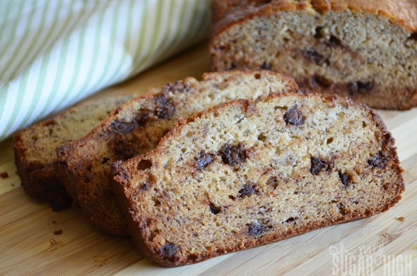 Moist Banana Chocolate Chip Bread Recipe Coconut chocolate chip banana