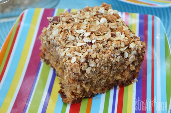 Oatmeal Crumb Topping For Coffee Cake